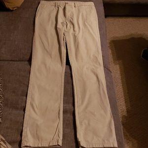 Tan dress pants 32 x 36